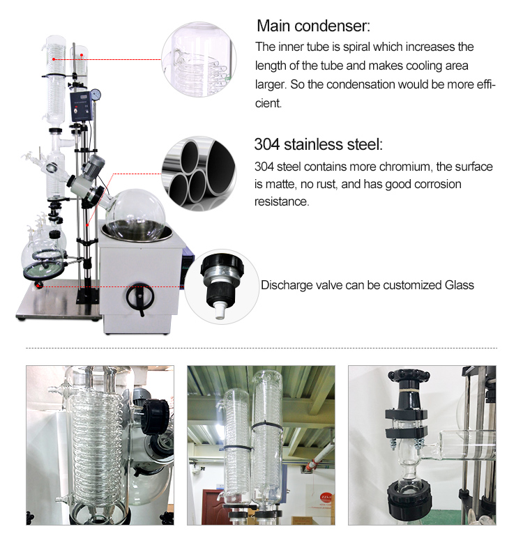 rotary evaporator with chiller and vacuum pump price