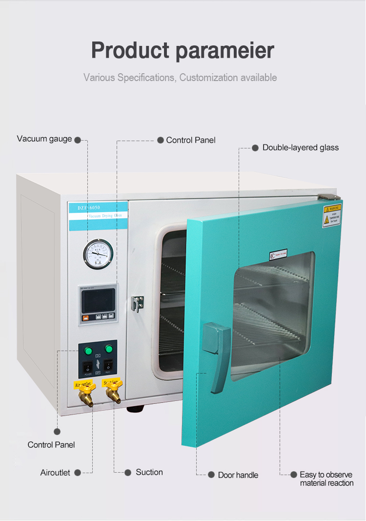 vacuum drying oven dzf-6050