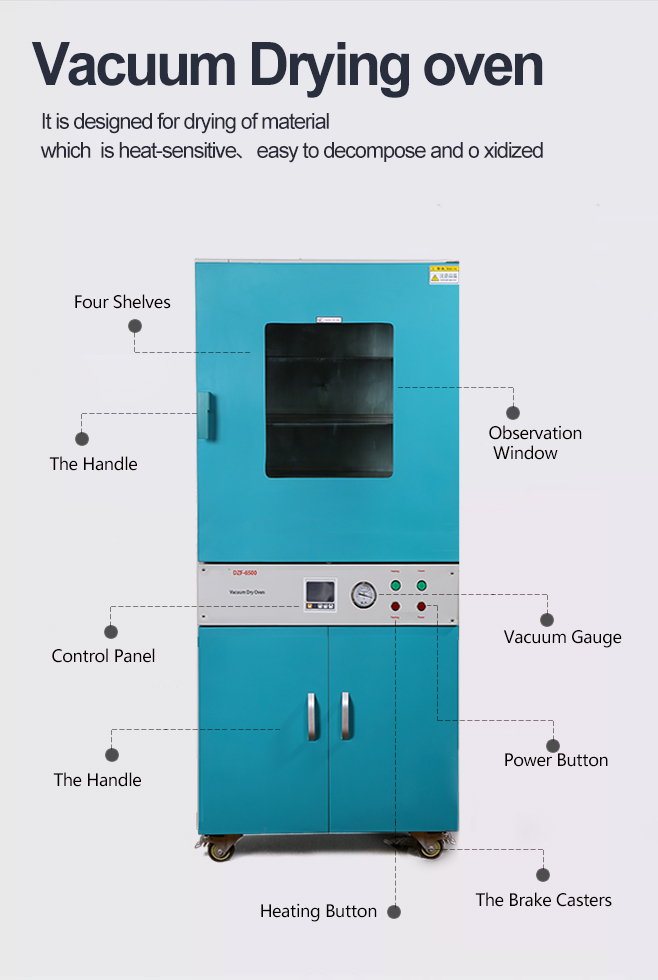 vacuum drying oven with pump
