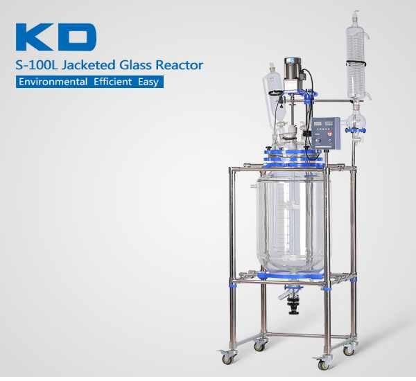 ZZKD is specializes in manufacturing and selling laboratory large-capacity glass reactors. Double-layer glass reactors can be customized and processed according to customer needs. The design is unique, safe and convenient.