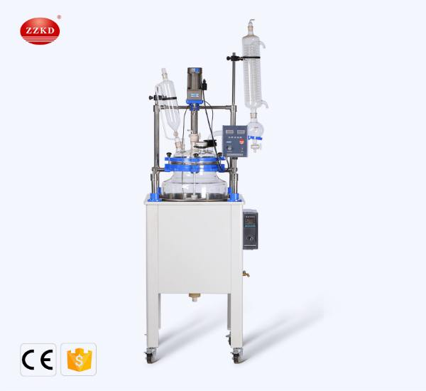 ZZKD is a well-known laboratory single-layer glass reactor manufacturer in China. We provide 80L 100L and other types of single-layer glass reactors. Contact us for prices.