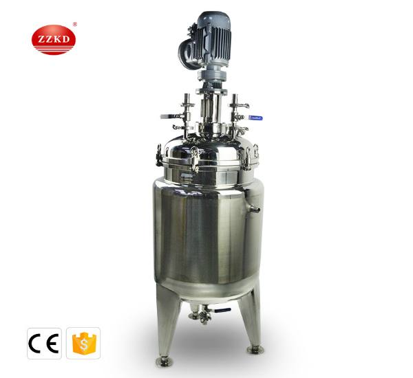 T-60L stainless steel jacketed reactor