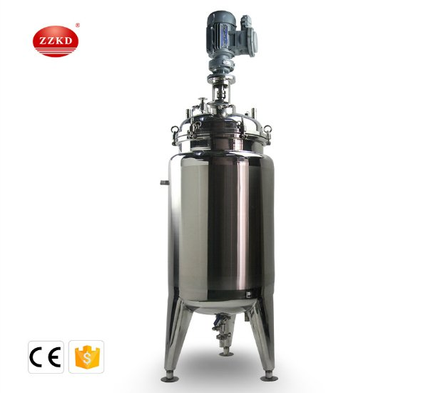 T-100L stainless steel jacketed reactor